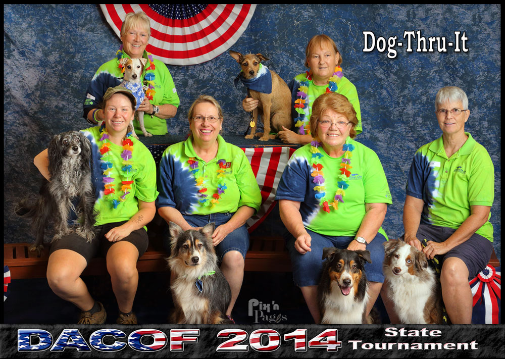 Dog-Thru-It 2014 DACOF Team