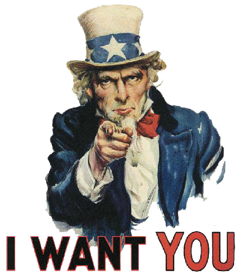 DOI Wants You!
